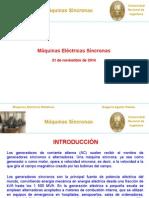 Clase N° 01 - Máquinas Síncronas- 21-11-2014