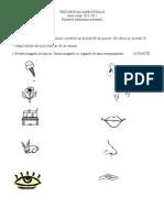 TEST DE EVALUARE INITIAL¦é FAP