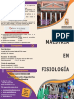 Triptico Maestria en Fisiologia 2015
