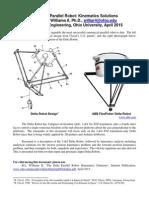 Deltas Robot TRansformation