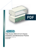 Total Access 3000 23 Inch Chassis Installation and Maintenance Practice