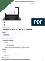 Notebook HP 14-r022la