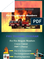 Training Fire Fighting Modul
