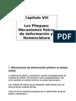 Cap VIII Pliegues Mecanismos Nomenclatura