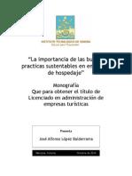 Monografia Practicas Sustentables