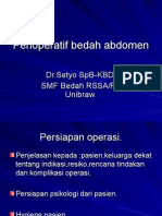 Perioperatif Bedah Abdomen