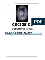 MELJUN CORTES Instructional Manual Data Structures