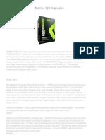 Suplement for Fitness_ MusclePharm Shred Matrix, 120 Capsules