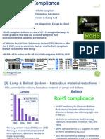 Ballast RoHS Compliance