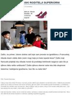 Detinjarije – Zašto Su Francuski Roditelji Superiorni