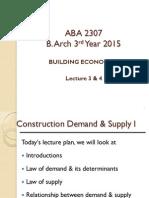 Building Economics notes