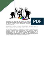 Aumento de Los Delitos de Odio en España 2014
