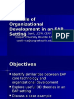 The Role of Organizational Development in an EAP - Value Options.ppt