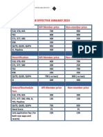 Icp Fee Structure Effective January 2014
