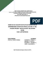 proyecto leptospirosis