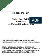 Uji Fungsi Hati 2
