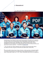 005 001 004 022 Challenger Disaster Remembered