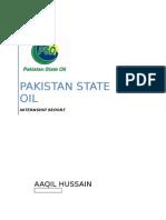PSO internship Report 2014