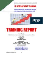 4-Leadership Training for Nepalese Leaders