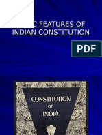 BASIC FEATURES OF INDIAN CONSTITUTION by J Walia.ppt