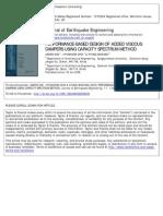 [Doi 10.1080%2f13632460309350439] j. Kim; h. Choi; k. Min -- Performance-based Design of Added Viscous Dampers Using Capacity Spectrum Method