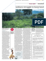 Guardian - São Paulo's Guarani Indians face eviction - 24 April
