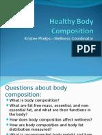 Healthy Body Composition