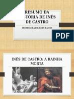 Resumo Da História de Inês de Castro