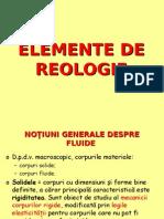 Elemente de Reologie