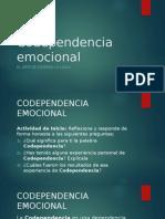 CODEPENDENCIA EMOCIONAL
