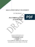 As 2006 Plumbing Code Regulation