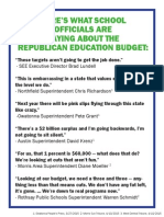"""MN Education Leaders Give Republican Education Bill an """"F"""""""