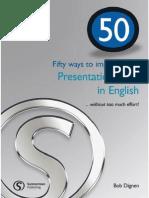 -Fifty Ways to Improve Your Intercultural Skills in Business. Student's Book-Langenscheidt Elt