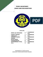 Paper Teori Akuntansi Revenue and Recognition