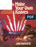 How to Make Your Own Knives - Jim Mayes(S)