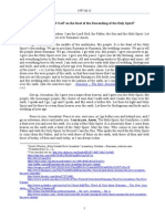 1997.06.15 - The Word of God on the feast of the descending of the Holy Spirit