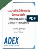 LEGISLACION PERUANA COMERCIO EXTERIOR