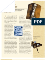 Mass Spectrometer History
