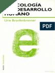 ECOLOGIA DEL DESARROLLO HUMANO - URIE BRONFENBRENNER