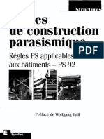 Regles de Construction Parasismique