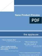 Nano Product Preview