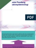 (3). Sudut Pandang Farmakoepidemiologi