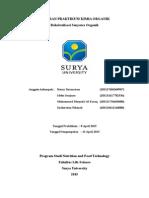Laporan Praktikum Kimia Organik Rekristalisasi