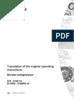 CompAir D_DRS Series Operations Manual Rev.02 Nov.11, 2013