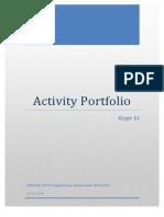 activity portfolio