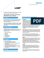 TDS - Masterflow 980