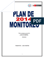 Plan de Monitoreo 2014