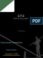 Cross Border Transactions Mukesh-Butani