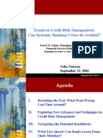 Trends in Credit Risk Mgmt