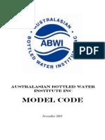 Australasian Bottled Water Institute Inc